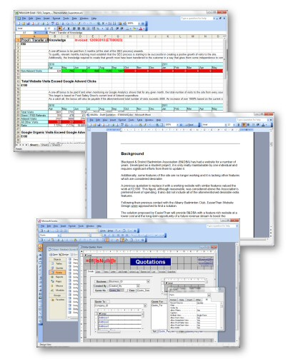 Screenshots - Microsoft Office Training